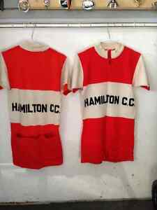 VINTAGE HAMILTON CYCLING CLUB CC JERSEY  - PARKER PICKERS -