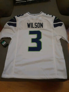 Seattle Seahawks Russell Wilson #3 Authentic NFL Jersey