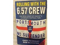 Pompey book signed- Rolling with the 6.57 crew