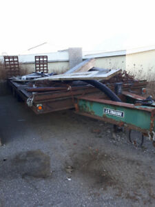 2001 JC Trailers dual axle trailer