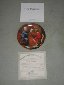 "Collector Plate ""The Professor"""