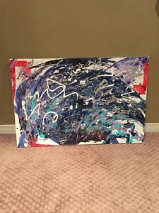 Abstract Painting Cambridge Kitchener Area image 2