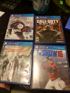 ps4 games 20 each