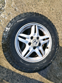 205/70 15 hankook dyna Pro atm tyres like new