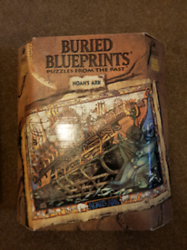 For sale is a Buried Blueprint Noahs Ark puzzle from Bepuzzled.