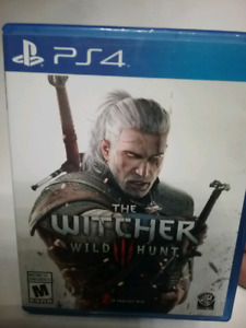 The Witcher 3 pour ps4