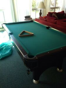 Smaller size pool table