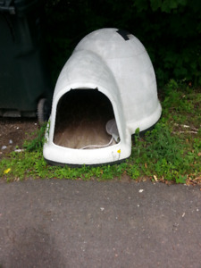 Dog-loo dog house for large dogs