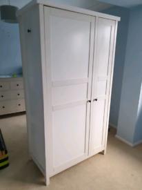 IKEA self assembly wardrobe (white)