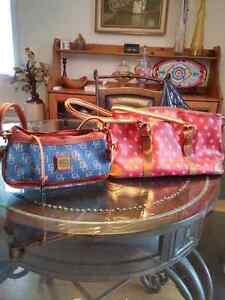 Two small to medium Dooney & Bourque handbags