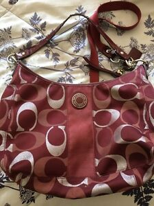 "Authentic Coach purse  for sale 16""x10""x5"" Kitchener / Waterloo Kitchener Area image 1"