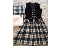 Flora Highland Dancing Outfit ladies- perfect condition