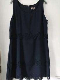Hobbs NW3 Navy Dress size 14