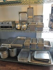 steamer pans for sale like new VOLRATH USA