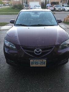 2007 Mazda Mazda3 GT Sedan Fully Loaded (Manual)