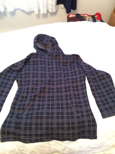 Mens Analog Sweater Hoodie. Size Large New condition