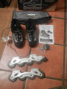 Brand New Size 4 Detachable Boot Inline Skates Roller Blades