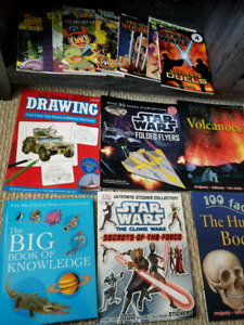 Lot of Books for boys