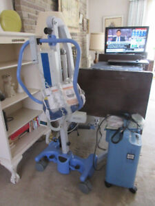 Oxygen concentrator E size Cylinder and Hand cart Ever Flo Q5