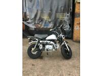 Skyteam Monkey 125cc efi Euro 4 fuel injected 12 months part and labour warrant