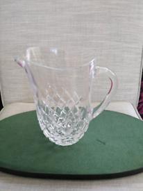 Cut glass jugs