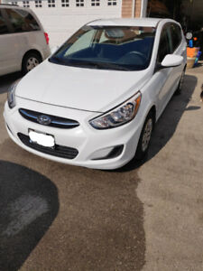 2017 Hyundai Accent L 6 Speed Manual w/AC