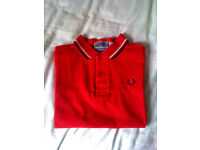 Fred Perry polo shirt (small)