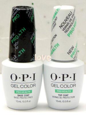- OPI GelColor Brand New Polish Soak Off UV/LED ProHealth Base Coat & Top Coat Gel