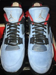 Travis Scott x Air Jordan 4 Oiler (Size 11 & 14)