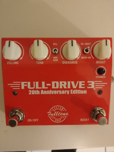 Fulltone Custom Shop 20th Anniversary Full-Drive 3