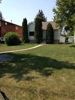Cutting lawns in and around Red Deer