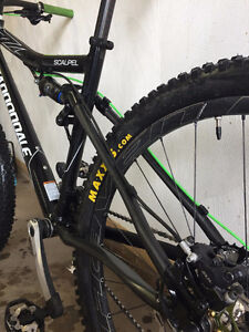 Cannondale Scalpel (all new parts XTR and carbon)