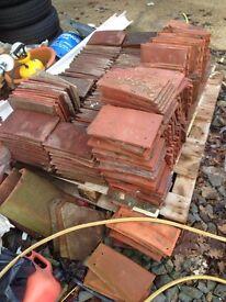 Roof tiles Rosemary Marley keymer ridge corner