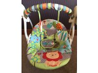 Bright star baby swing