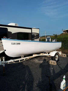 14 Ft. MossBoat With Trailer And Motor