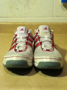 Women's Adidas Pink 3-D Light Weight Running Shoes Size 10 London Ontario image 8