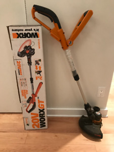 WORX Coupe-bordure / Edge Trimmer - sans fil / Cordless 20V