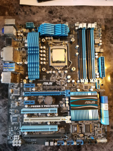 I7 2700 w/ Asus motherboard