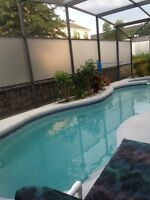 DISNEY Area 4 Bdrm Vacation home w/Private Pool. $110US/night