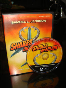 DVD-SERPENTS À BORD/SNAKE'S ON PLANE-FILM/MOVIE