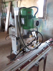 Line bore and hinge drilling machines