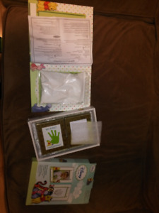 Baby handprint photo frame. NEW