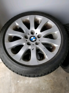 BMW rims 17inch with tires