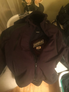Icon 1000 Basehawk jacket large