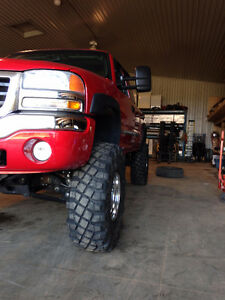 """off-road 33"""",36"""",38 inch tires, military surplus wheels"""
