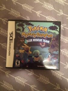 Pokémon mystery dungeon blue rescue team ds complete 10$ firm