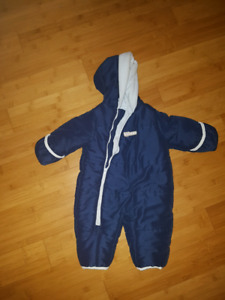 3-6 month one piece snowsuit