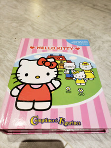 Coffret livre-figurines Hello Kitty
