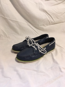 Womens Navy Blue Rockport boat shoes
