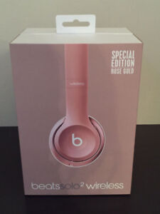 Special Edition Rose Gold SOLO 2 Wireless